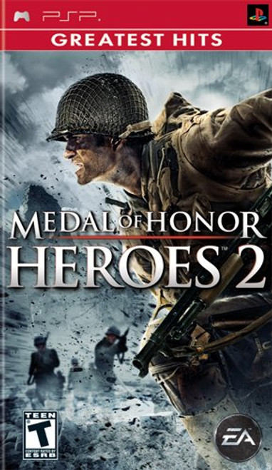 Medal of Honor: Heroes 2 - Greatest Hits - PSP - USED