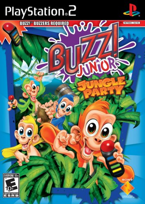 Buzz! Junior - Jungle Party - PS2 - USED (GAME ONLY)