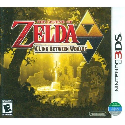 The Legend of Zelda: A Link Between Worlds - 3DS - NEW