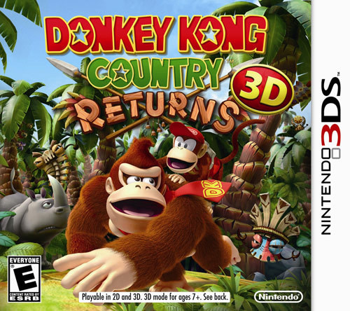 Donkey Kong Country Returns 3D - 3DS - NEW