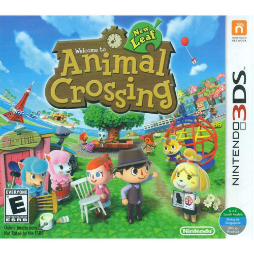 Animal Crossing: New Leaf - 3DS - NEW