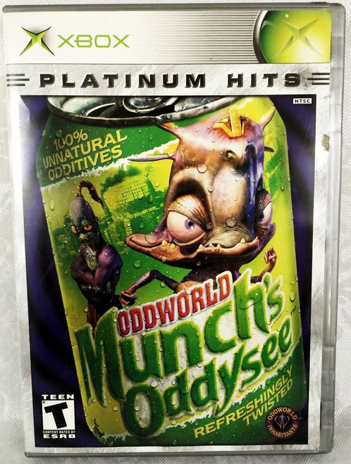 Oddworld: Munch's Oddysee - Platinum Hits - Xbox - USED