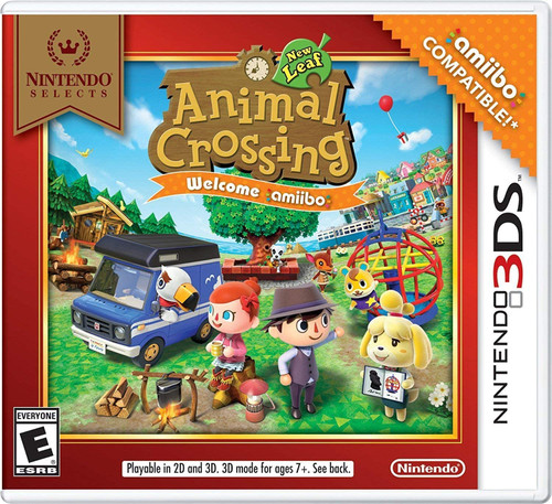 Animal Crossing: New Leaf (Welcome Amiibo!- Edition) - Nintendo Selects - 3DS - USED