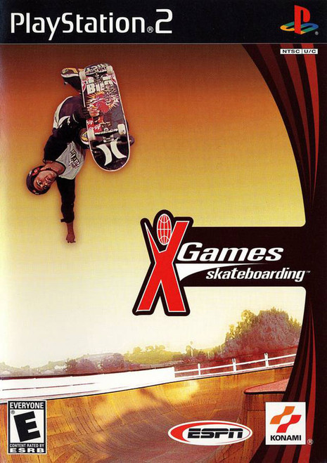 ESPN X Games: Skateboarding - PS2 - USED