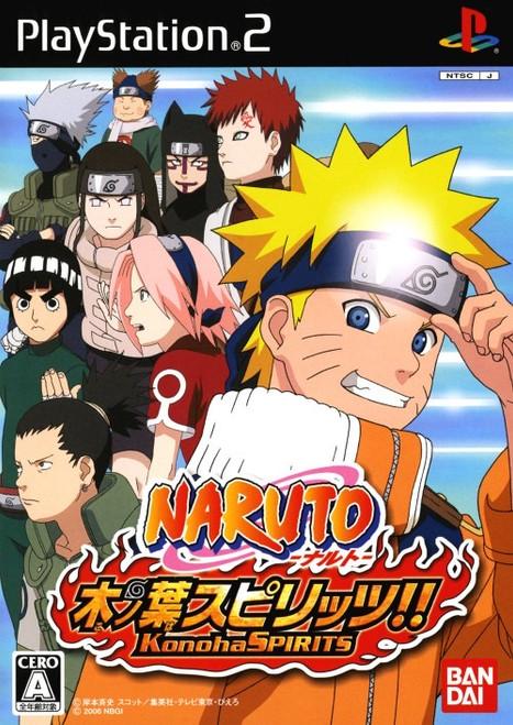 Naruto: Konoha Spirits - PS2 - USED - COMPLETE