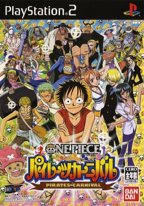One Piece: Pirates Carnival - PS2 -USED - COMPLETE
