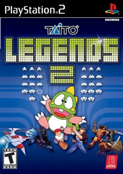 Taito Legends 2 - PS2 - USED