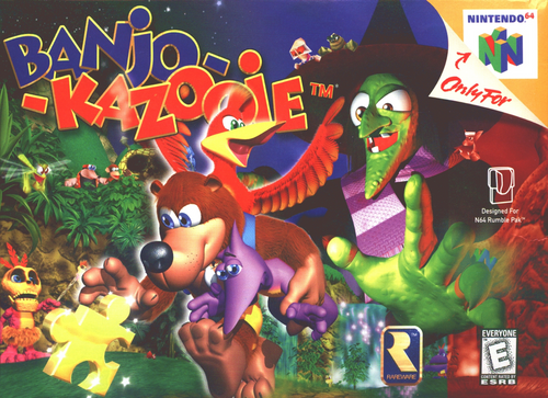 Banjo Kazooie - N64 - USED (INCOMPLETE)