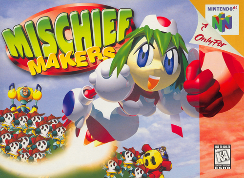 Mischief Makers - N64 - USED (INCOMPLETE)
