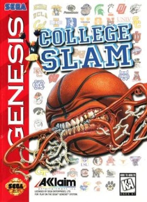 College Slam - Sega Genesis - USED (NO MANUAL)