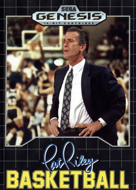 Pat Riley's Basketball - Sega Genesis - USED (NO MANUAL)