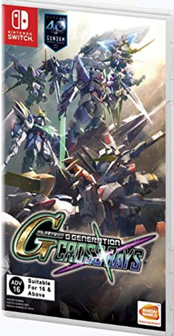 SD Gundam G Generation Cross Rays - Switch - NEW