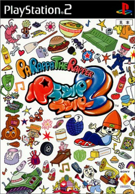 Parappa The Rapper 2 - PS2 - USED (IMPORT)