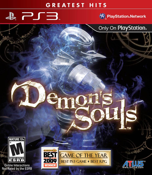 Demon's Souls Greatest Hits -PS3- USED