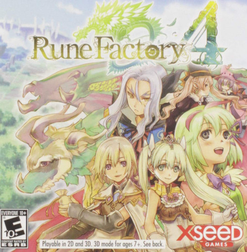 Rune Factory 4 - 3DS - USED