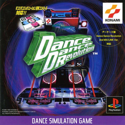 Dance Dance Revolution - PSX - USED (IMPORT)