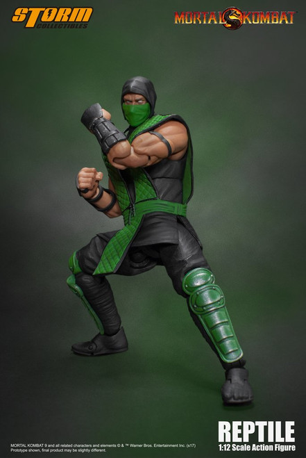 Mortal Kombat Klassic REPTILE Storm Collectible Figure