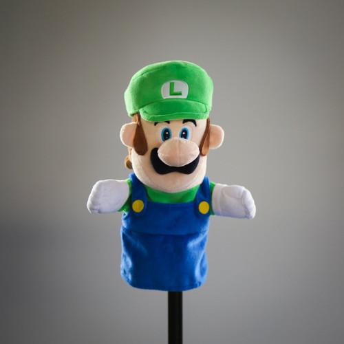 SMB Luigi Plush Puppet