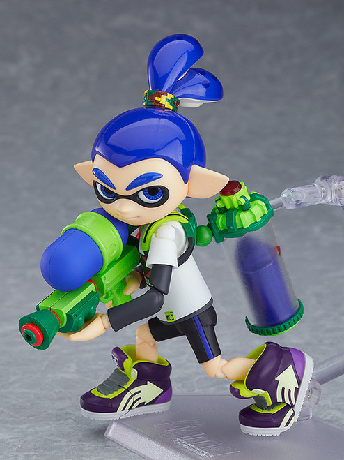 Splatoon Inkling Boy Figma