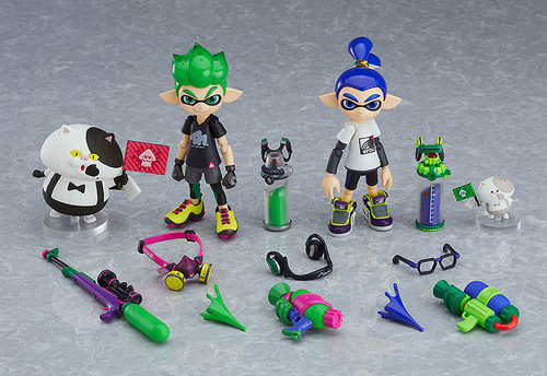 Splatoon Inkling Boys DX Edition Figma