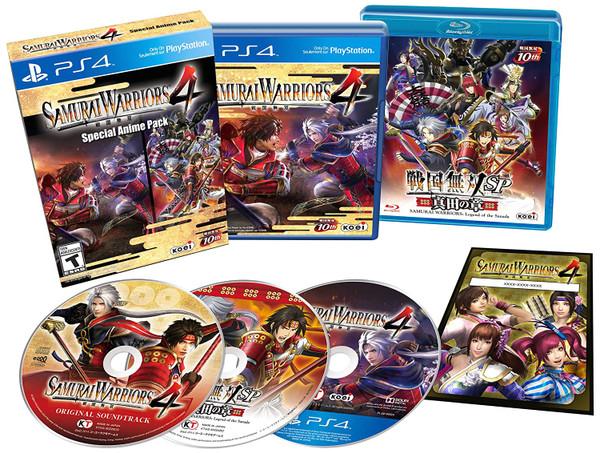 Samurai Warriors 4 - Special Anime Pack