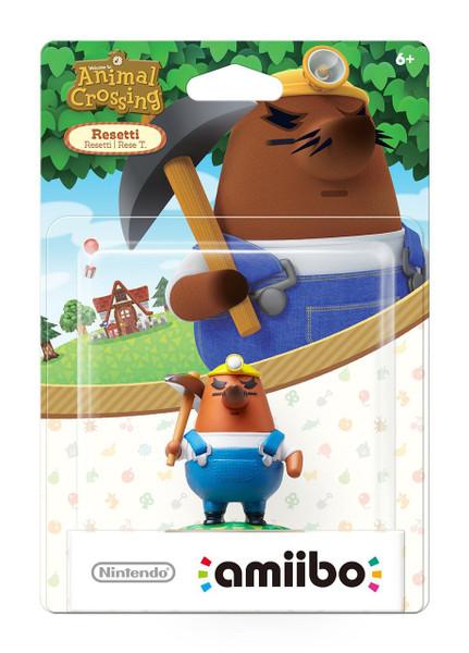 Animal Crossing Amiibo - Mr. Resetti