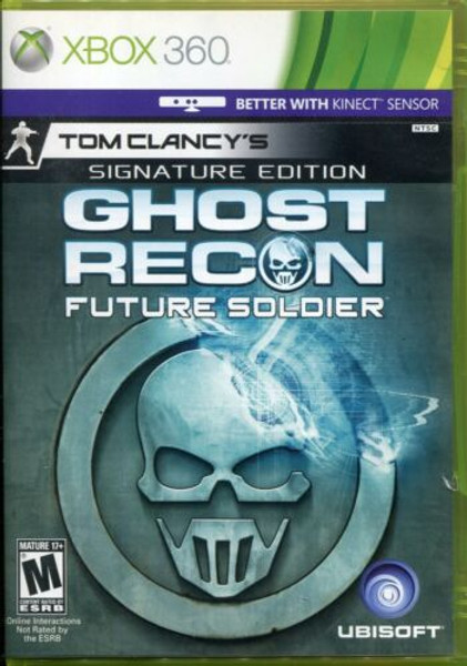 Tom Clancy's Ghost Recon: Future Soldier - Signature Edition - Xbox 360