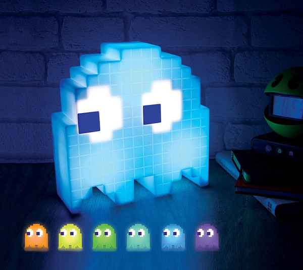 PacMan Ghost Light USB Powered Multi-colored Lamp V2