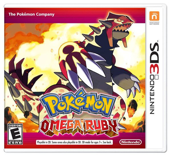 Pokemon Omega Ruby - 3DS  - USED