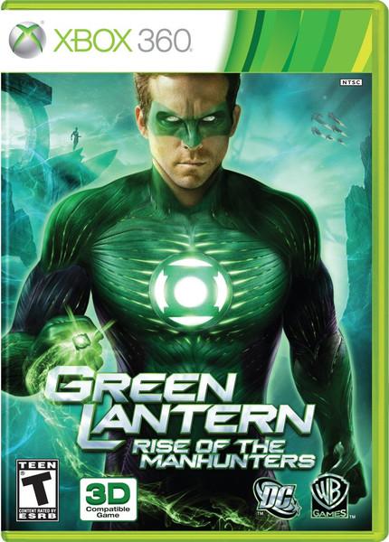 Green Lantern: Rise of the Manhunters - Xbox 360 - NEW!