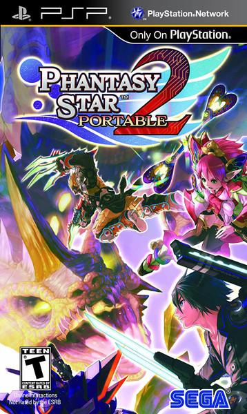 Phantasy Star Portable 2 - PSP - USED