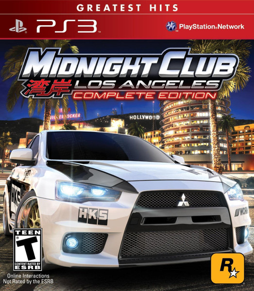 Midnight Club: Los Angeles - Complete Edition - Greatest Hits - PS3 - USED