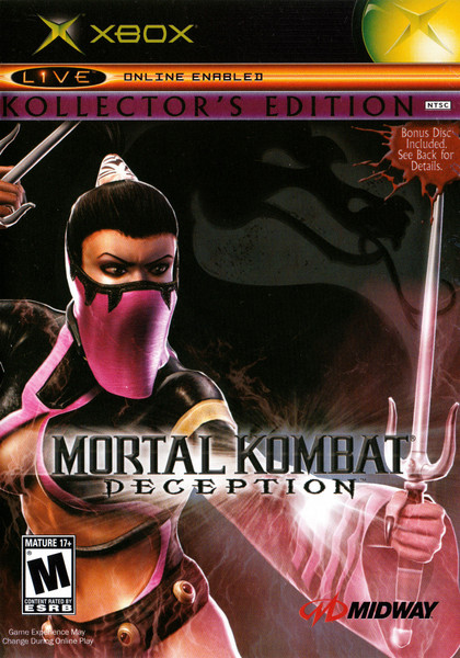 Mortal Kombat: Deception - Kollector's Edition - Xbox - USED