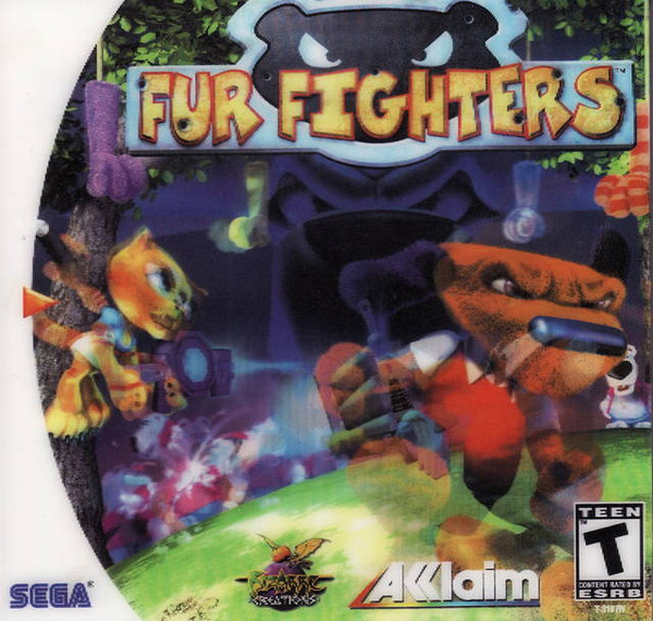 Fur Fighters - Dreamcast - USED