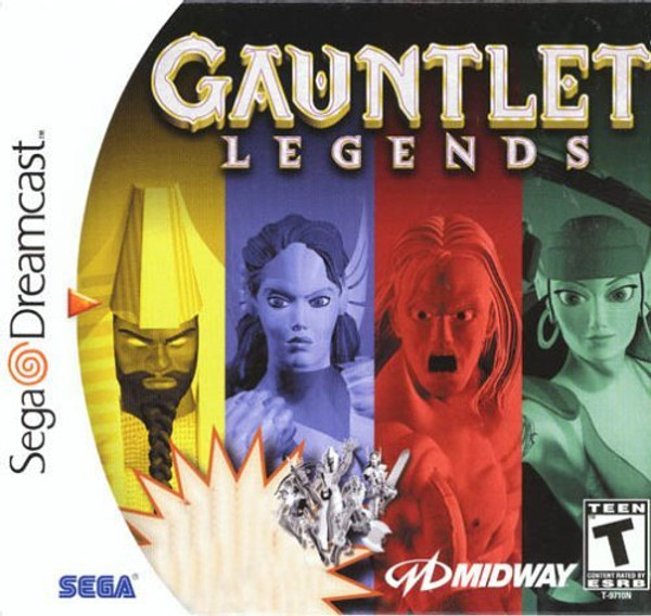Gauntlet Legends - Dreamcast - USED