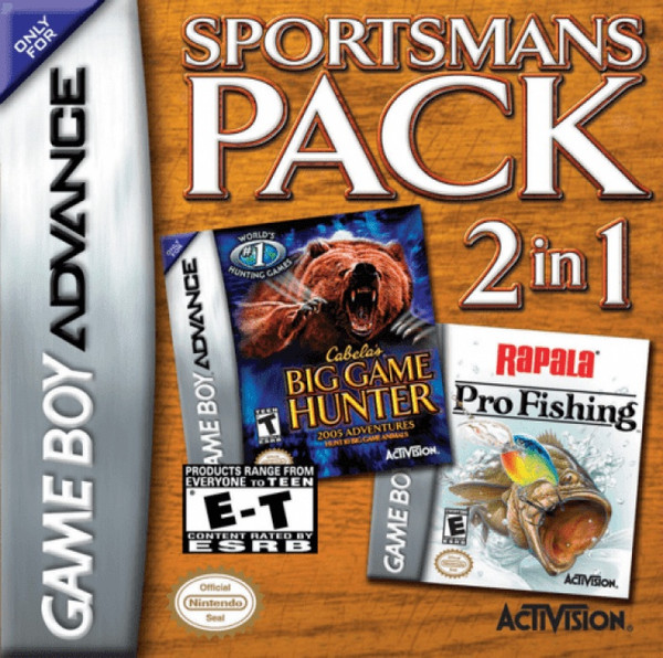 Cabela's Sportsman's Pack - GBA - USED - INCOMPLETE