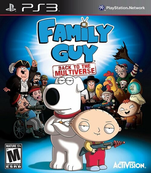 Family Guy: Back to the Multiverse - PS3 - USED