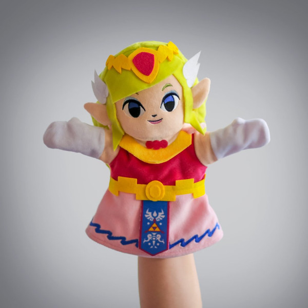 LoZ Princess Zelda Plush Puppet