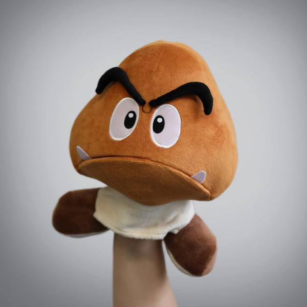 SMB Goomba Plush Puppet