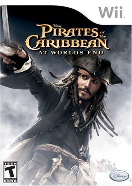Pirates of the Carribean: At World's End - Wii