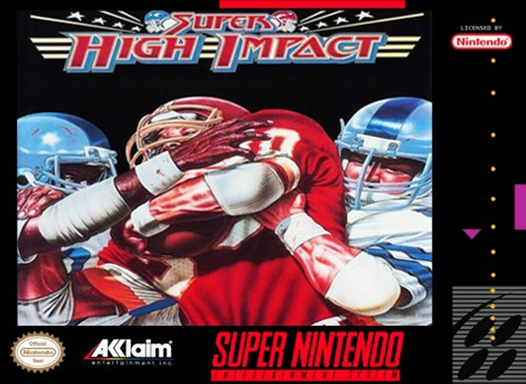 Super High Impact - SNES - USED (INCOMPLETE)