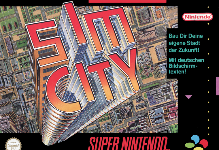 Sim City - SNES - USED (INCOMPLETE)