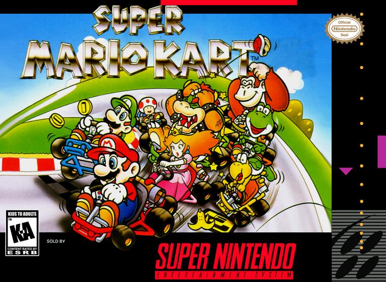 Super Mario Kart - SNES - USED (INCOMPLETE)