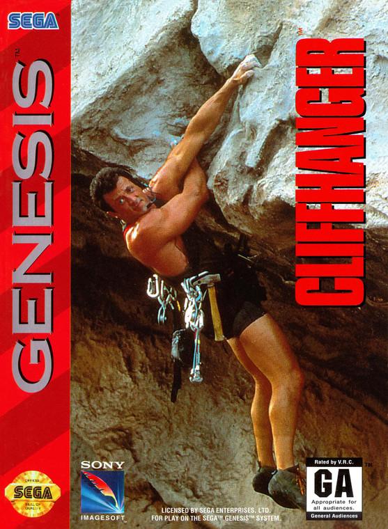 Cliffhanger - Sega Genesis - USED (COMPLETE)