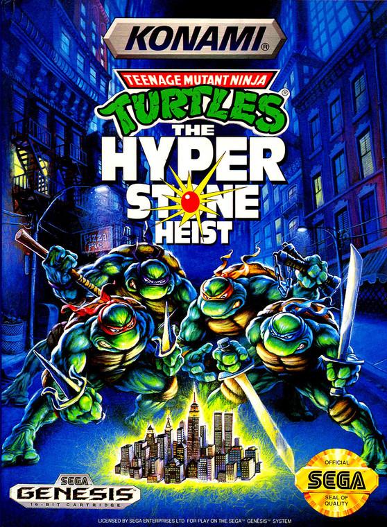 Teenage Mutant Ninja Turtles: The Hyper Stone Heist - Sega Genesis - USED (COMPLETE)