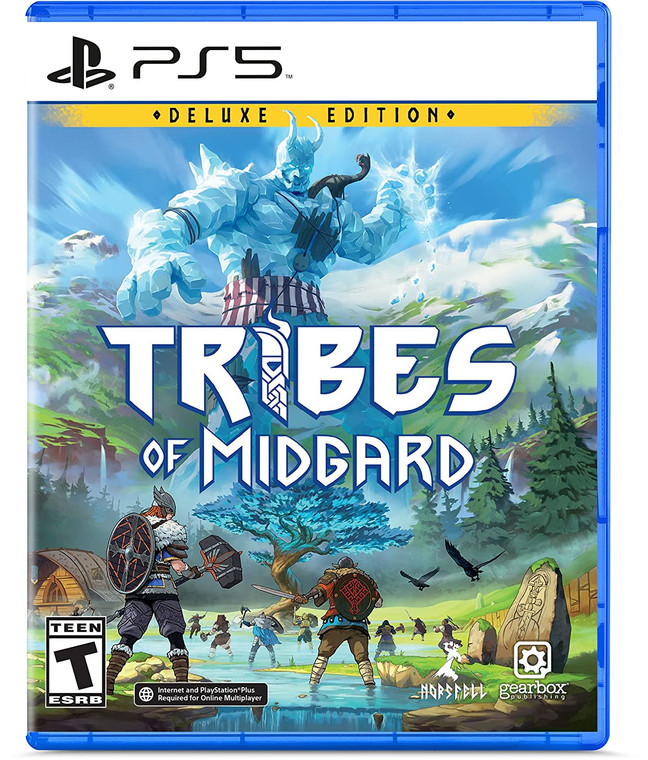 Tribes of Midgard - Deluxe Edition - PS5 - NEW!