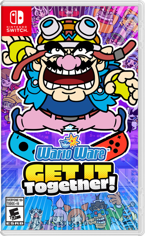 Wario Ware: Get It Together! - Switch - NEW!
