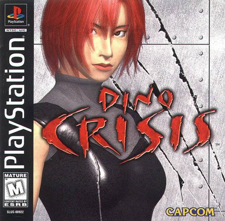 Dino Crisis - PSX - USED (COMPLETE)