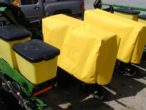 Planter Box Covers - JD Maxi-Merge with insecticide extension