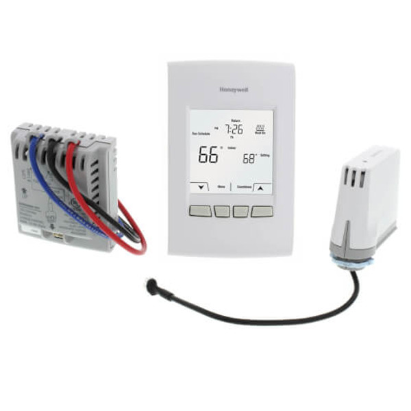 Red LINK EConnect Wireless Programmable/Non-Programmable Line Volt Thermostat Kit